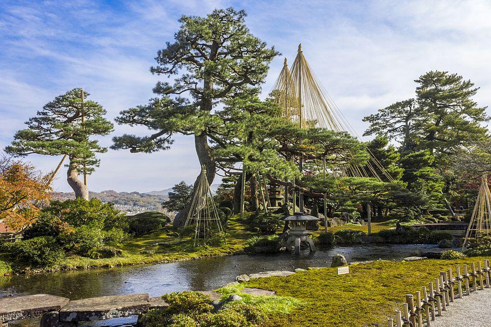 Kenroku-en gardens, Kanazawa, Japan