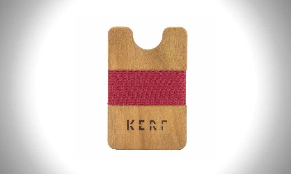 Kerf Wood Wallet