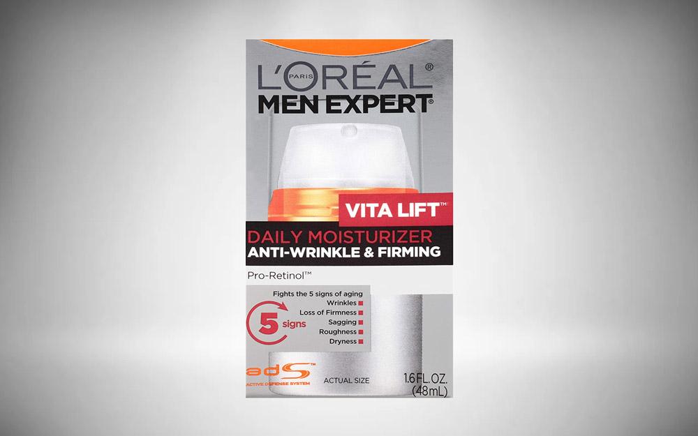 L'Oreal Men Expert Vitalift Anti-Wrinkle & Firming Face Moisturizer with Pro-Retinol, Face Moisturizer for Men
