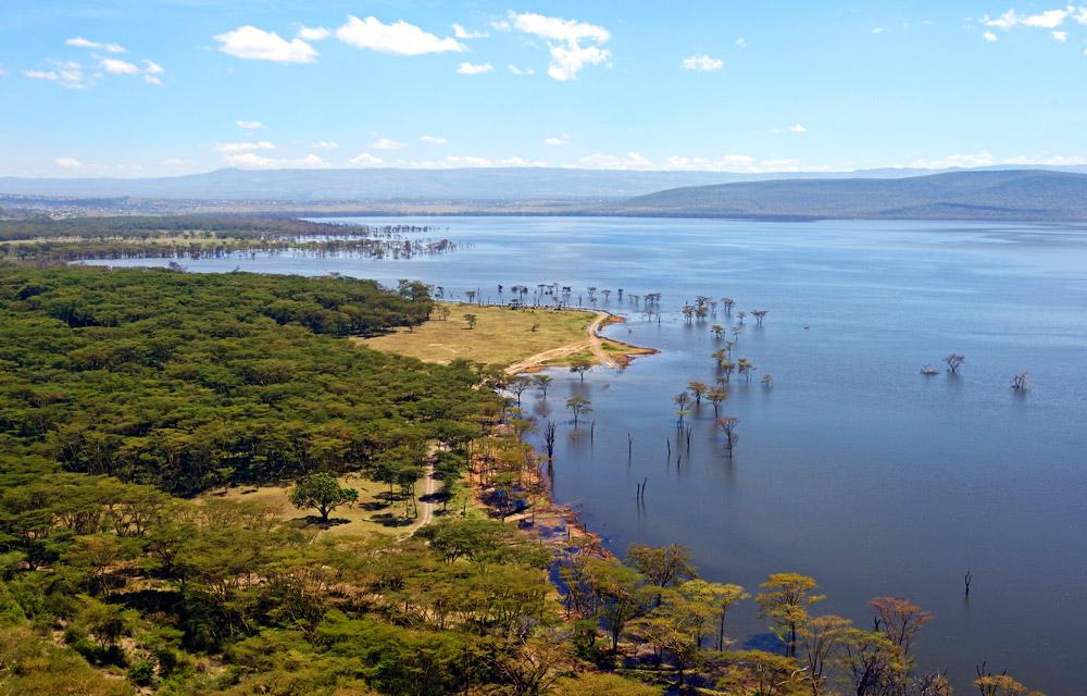Lake Nakuru in Kenya