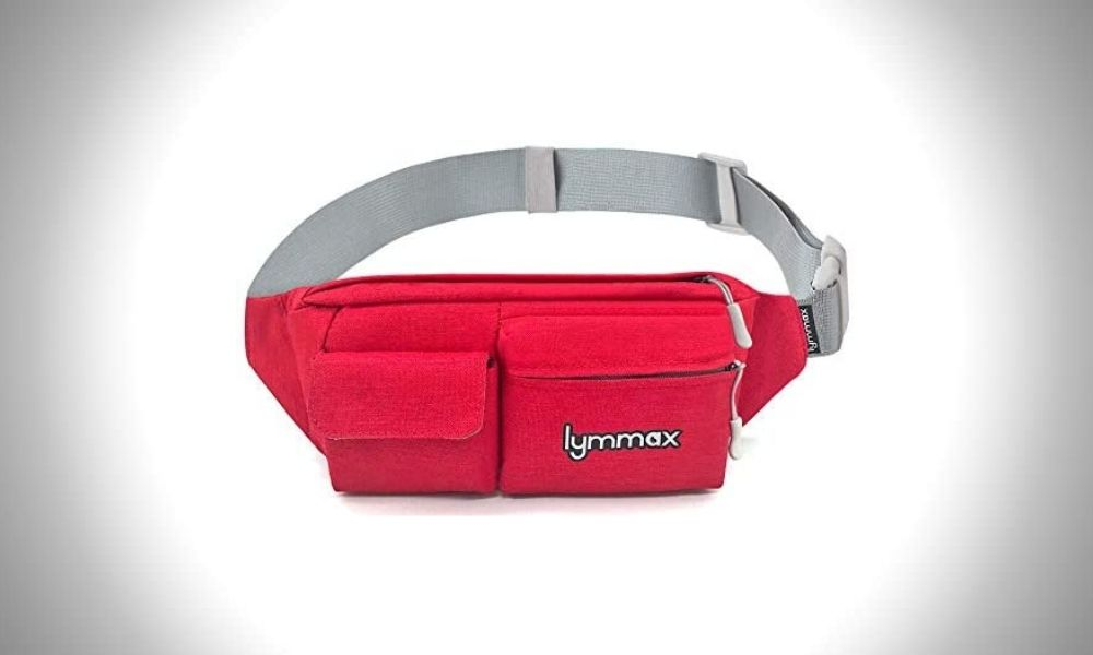 Lymmax Four Pockets Fanny Packs