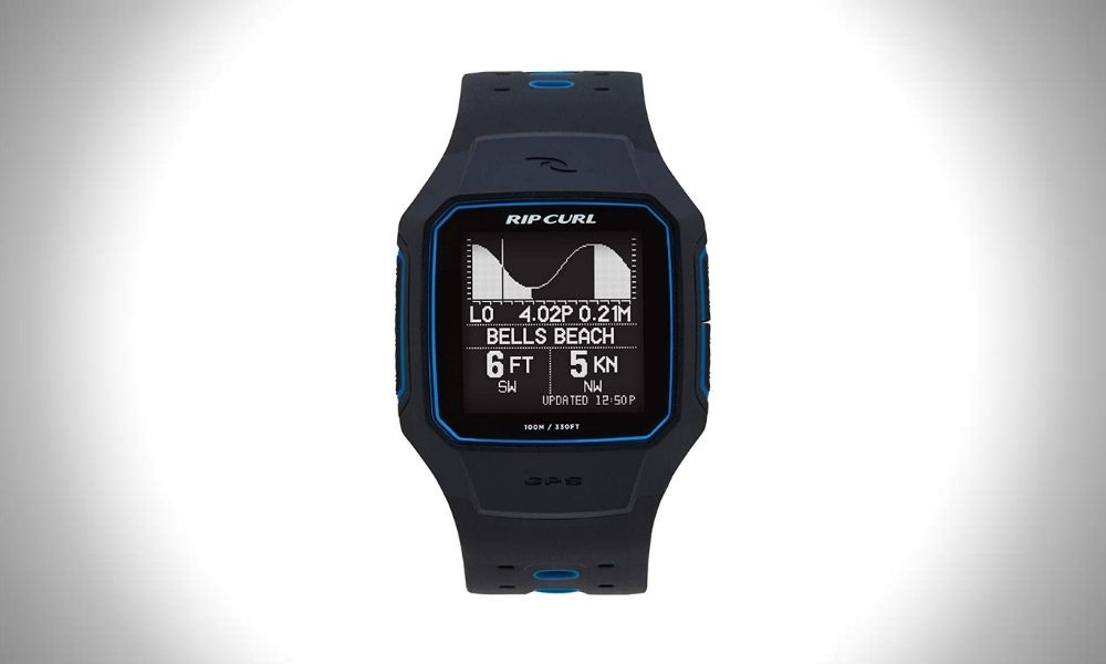 Rip Curl Search GPS Smart Surf Watch Surf Watch (Reviews): 8 Best Surf Watches for Modern Water Sports