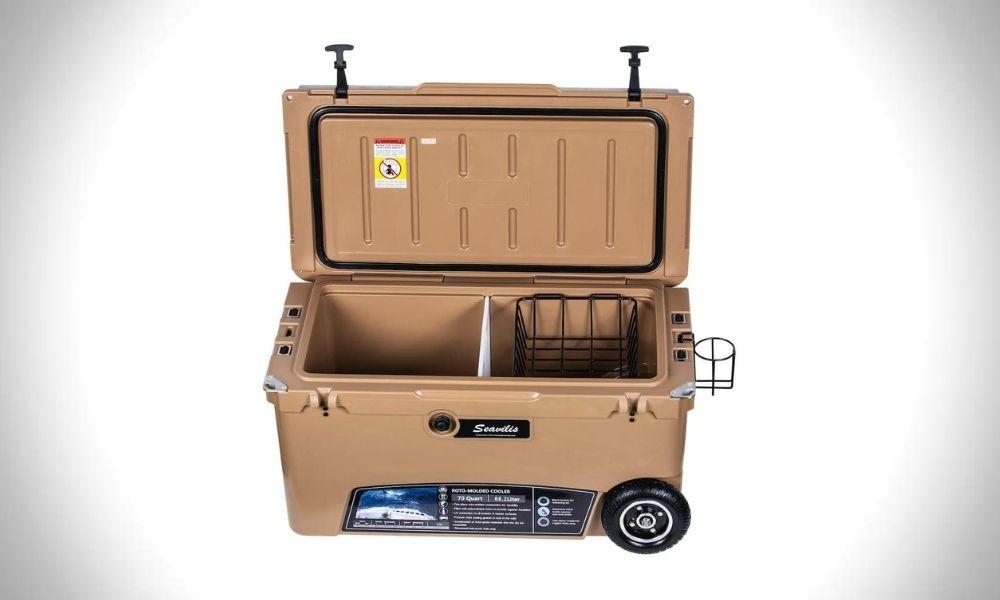 Seavilis Milee 70 Quart Heavy Duty Wheeled Cooler