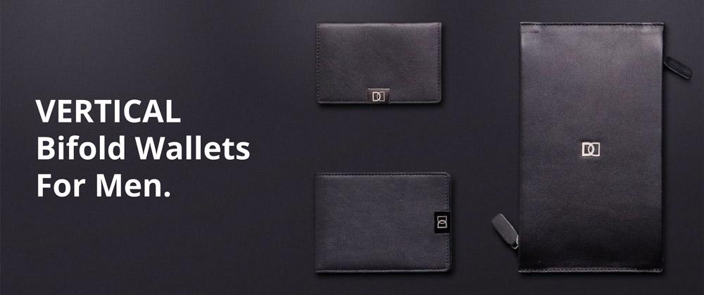 Vertical bifold wallets Best Vertical Bifold Wallet for Classy, Organised Men