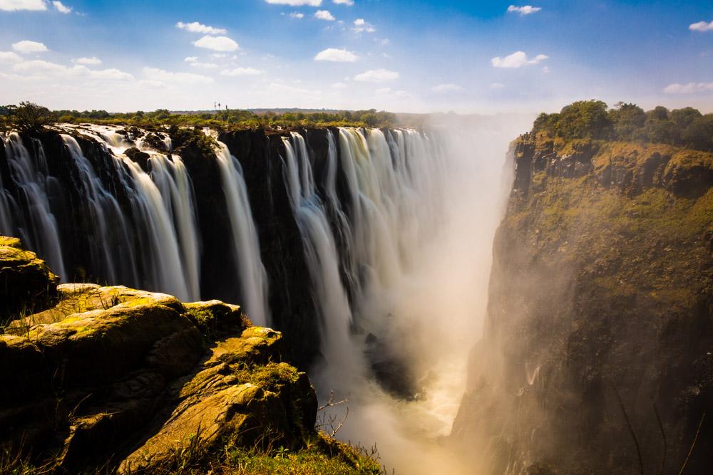 Victoria Falls, African continent