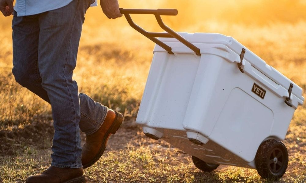 YETI Tundra Haul Portable Cooler With Wheels 8 Best Coolers With Wheels That Are Both Practical and Stylish
