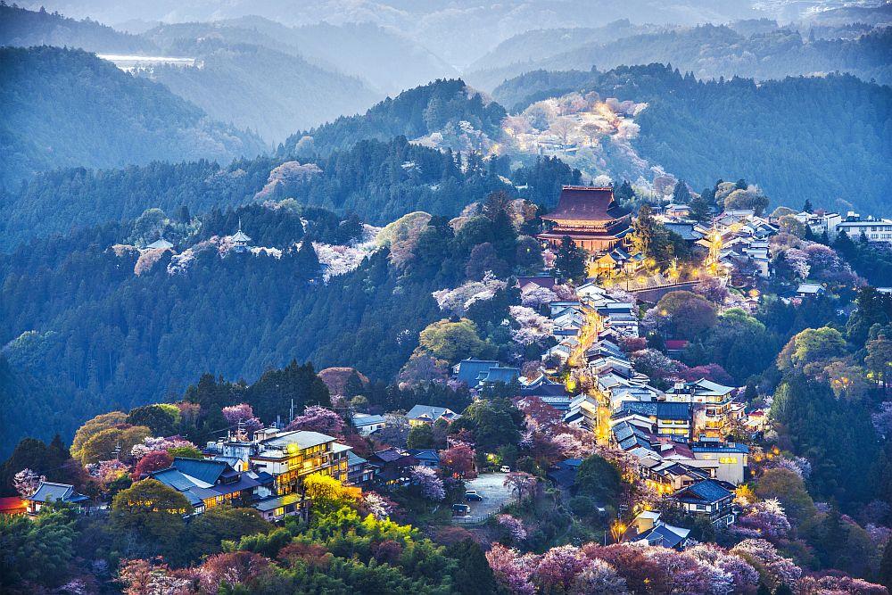Yoshinoyama, Japan - Mt Yoshino
