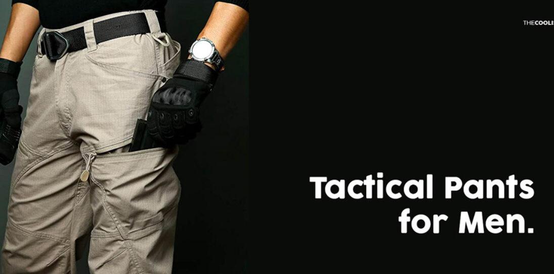 Tactical pants for men