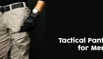 Tactical pants for men