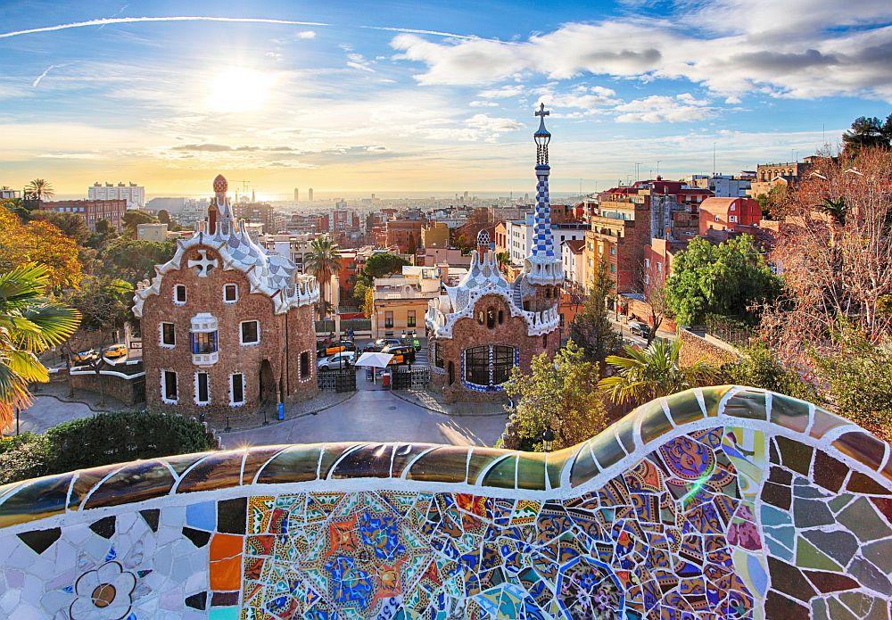 Barcelona – Park Guell, Spain