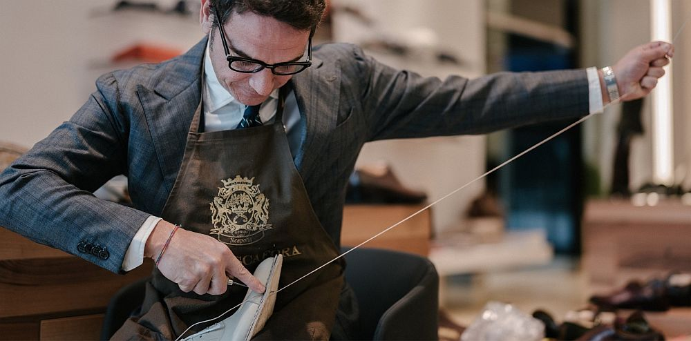 Bespoke Shoemaker Paolo Scafora - Naples