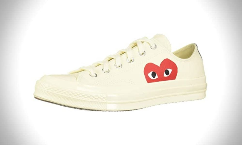 Converse Men's Low-Top mens white canvas Sneakers