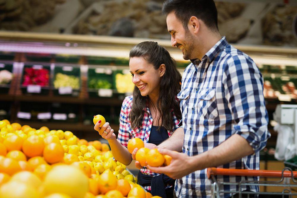Cute Couples - farmer's market