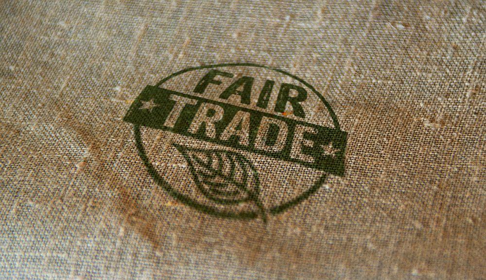 Fair Trade stamp - organic coffee study
