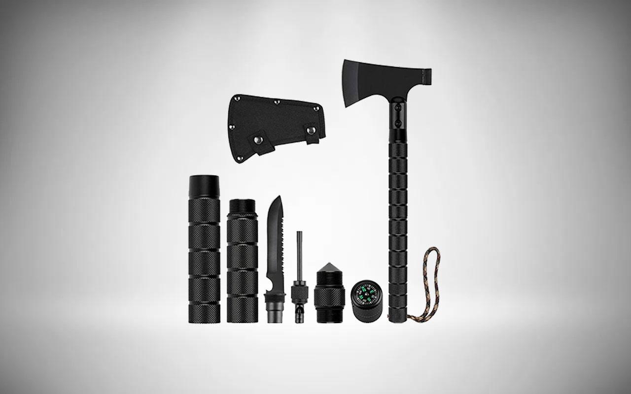 Liantral Survival Axe Kit Tactical Tomahawk