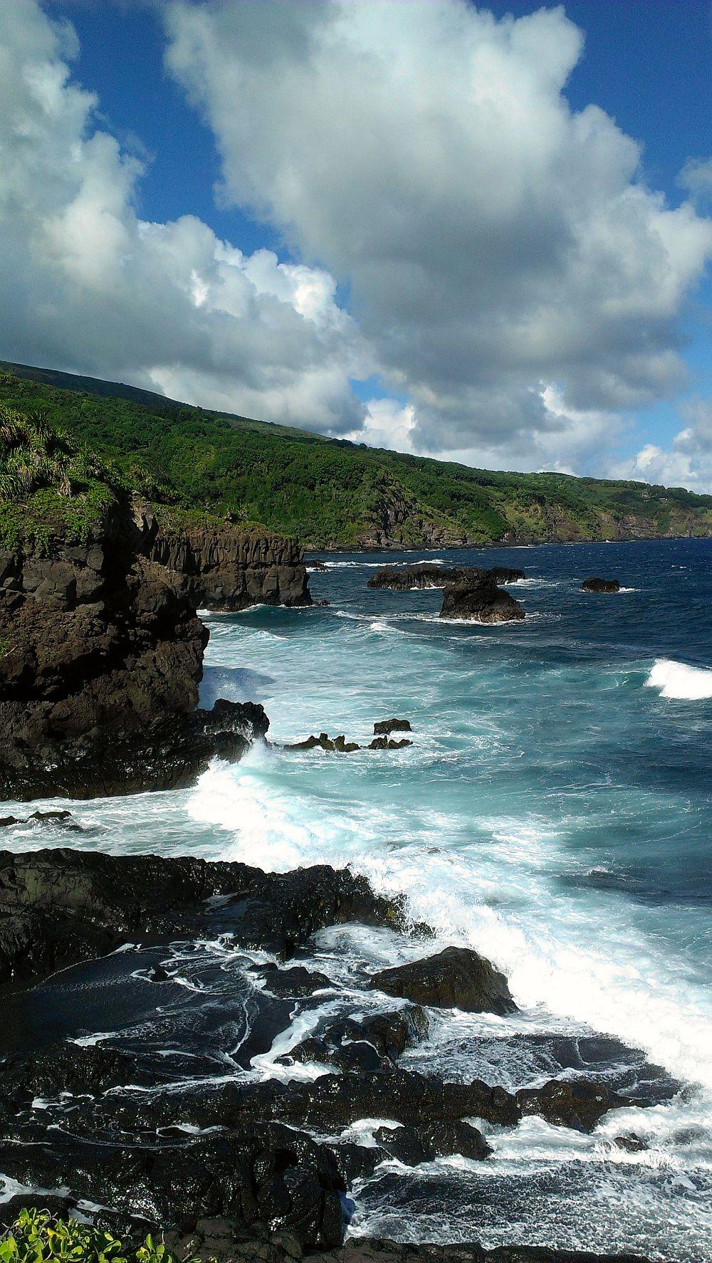 Maui Coastline, Pools at Ohe'o