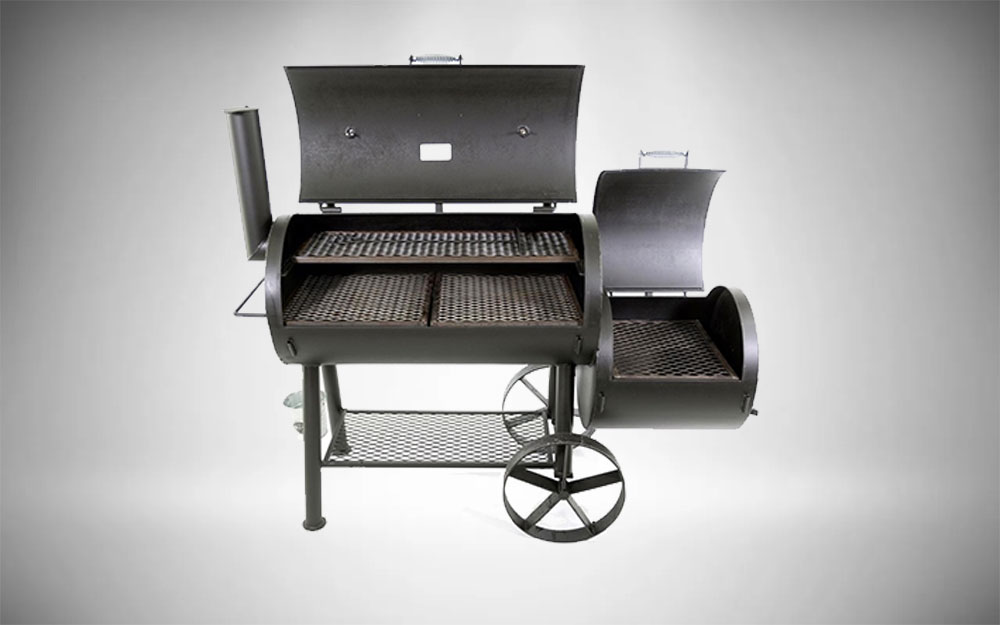 Our Best Premium Charcoal Smoker, the Texas Original Pits Luling