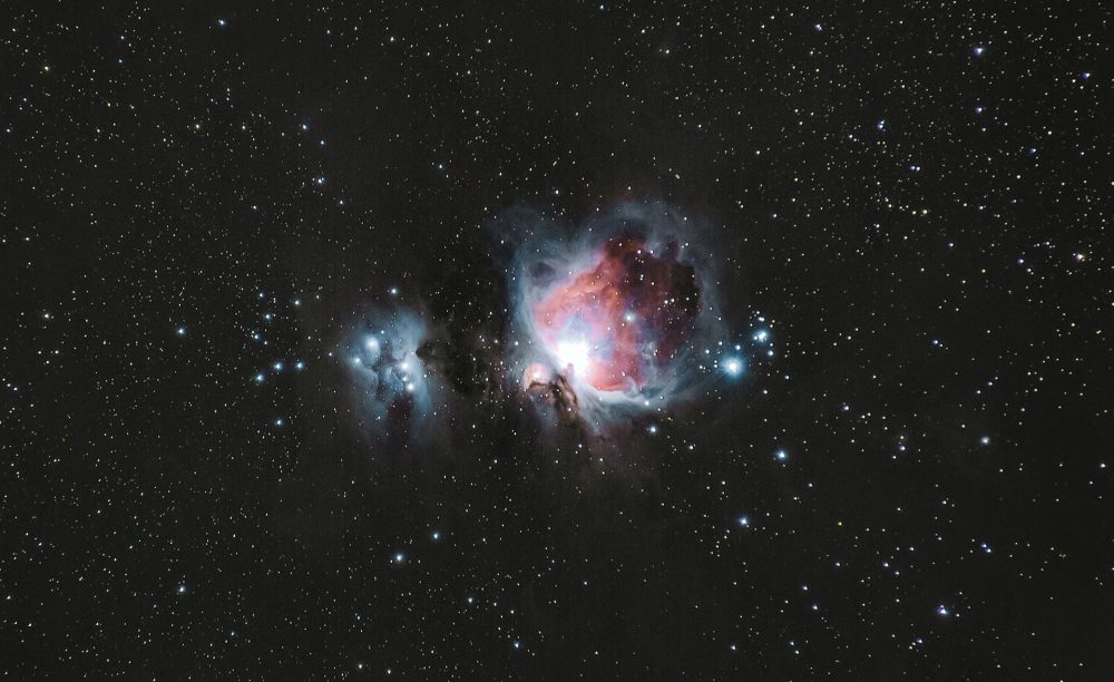 A picture of the Orion Nebula - Planetarium date