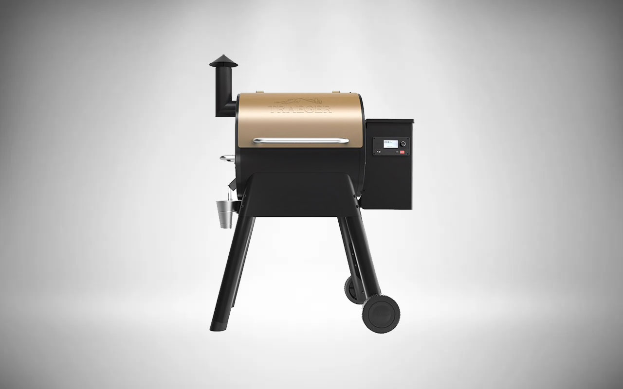 Traeger Pro 575 Wi-Fi Controlled Wood Pellet Grills