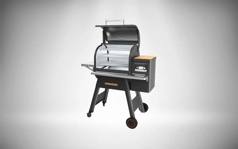 Our Best Pellet BBQ Smoker, the Traeger Timberline 850