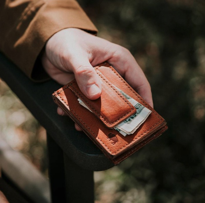 USA Made Wallets – Buffalo Jackson Dakota Money Clip