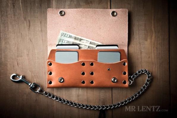 USA Made Wallets – Trucker Wallet by Mr Lentz