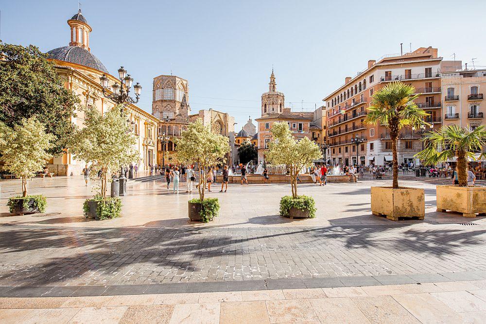 Valencia city in Spain