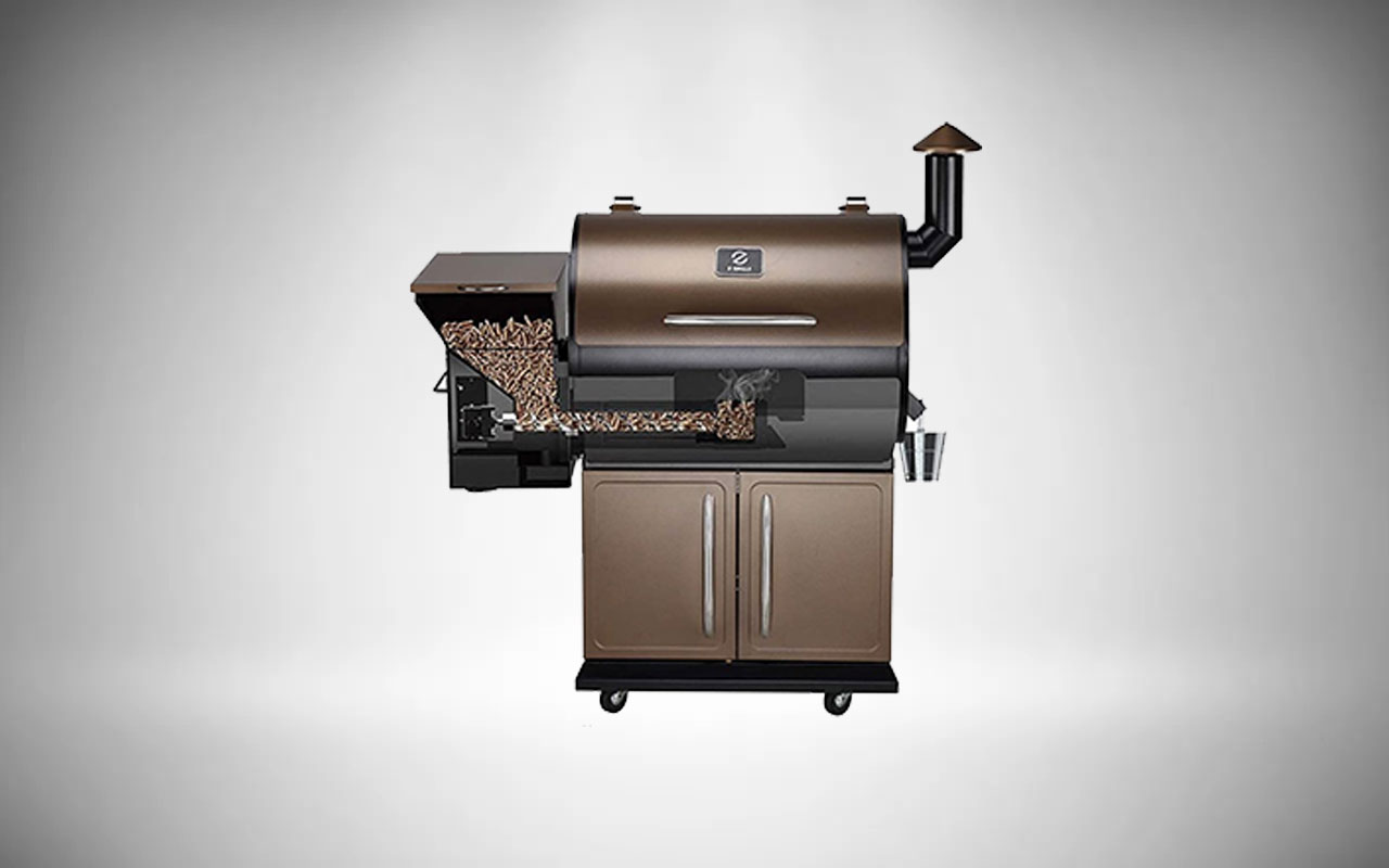 Z GRILLS ZPG-700D Wood Pellet Grills