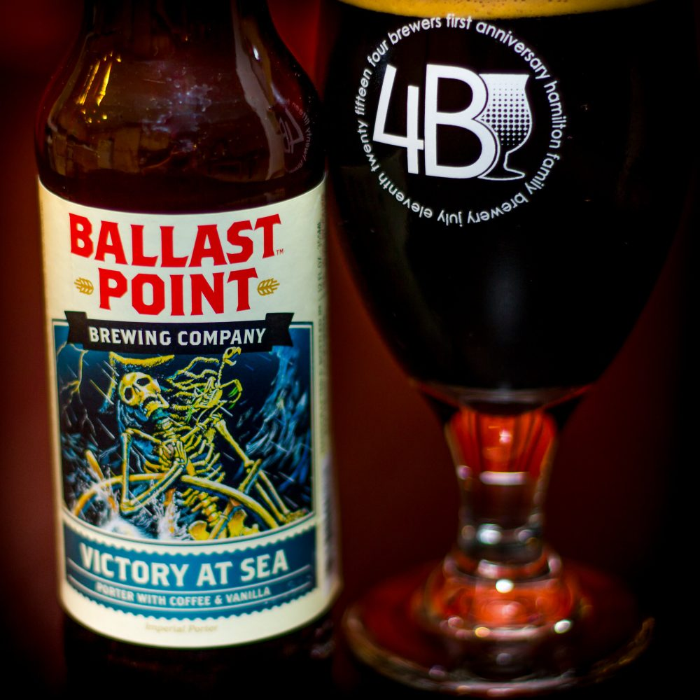 Ballast Point's Victory at Sea Coffee Beer