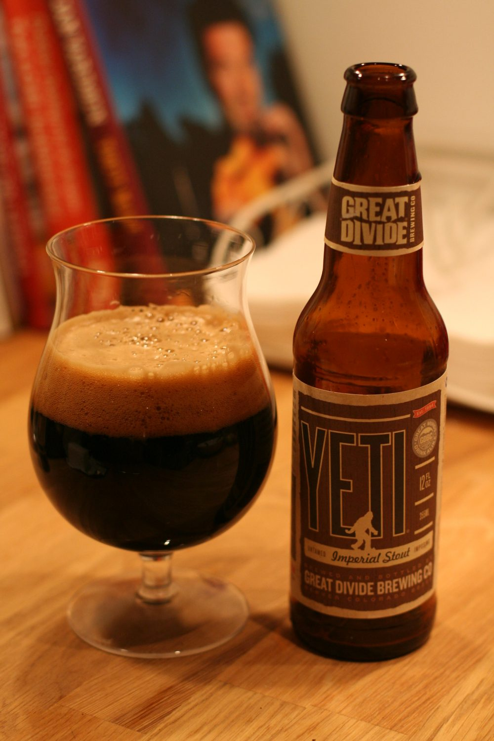 Great Divide's Yeti Imperial Stout