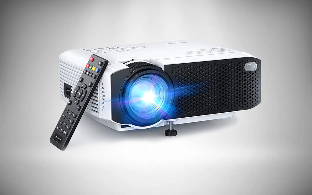 APEMAN LC350 Mini Projector with remote