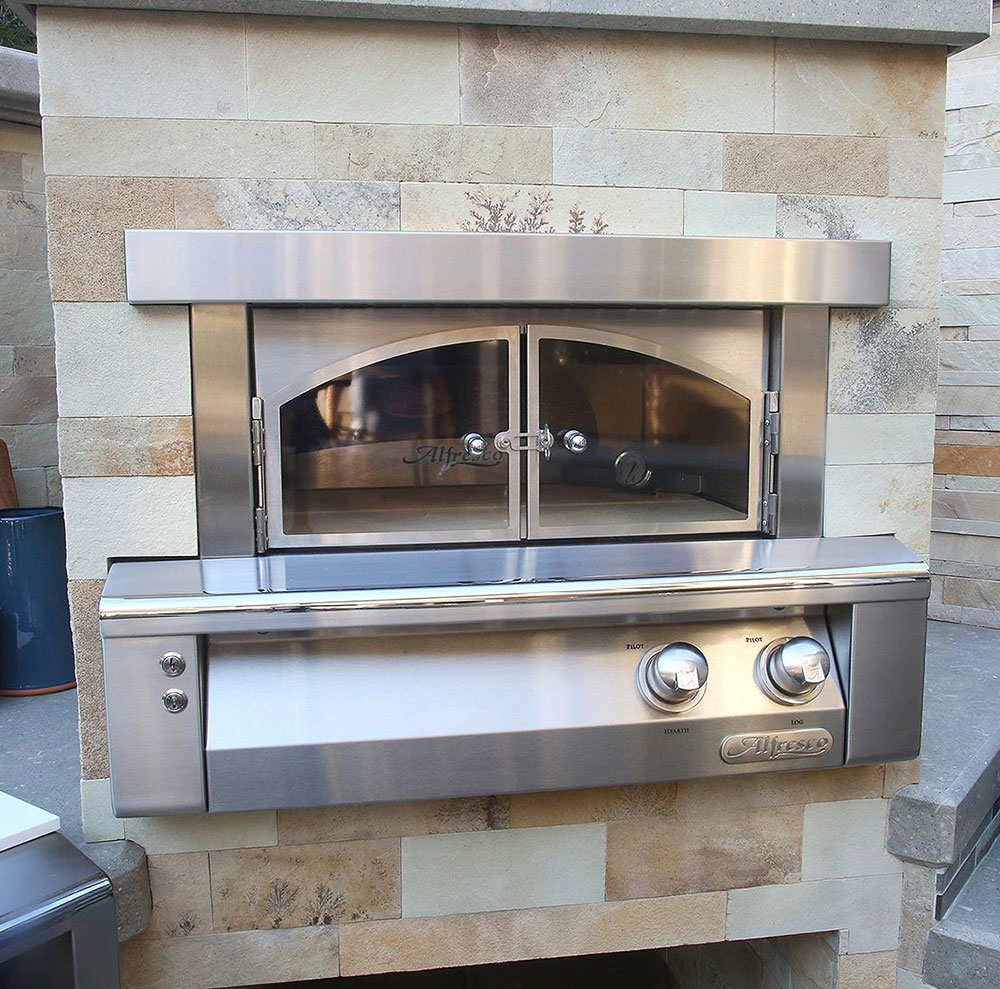 30-Inch Built-In Natural Gas Outdoor Pizza