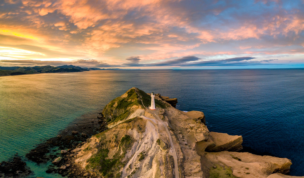 Castlepoint – north island – New Zealand