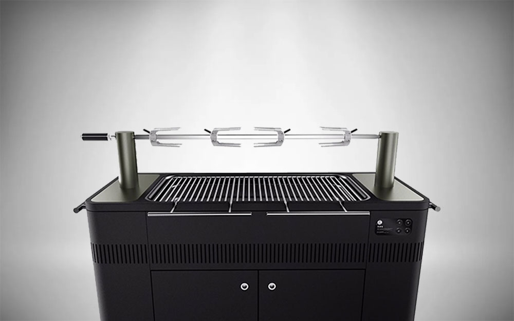 The HUB II 54-Inch Charcoal Grill from Everdure By Heston Blumenthal