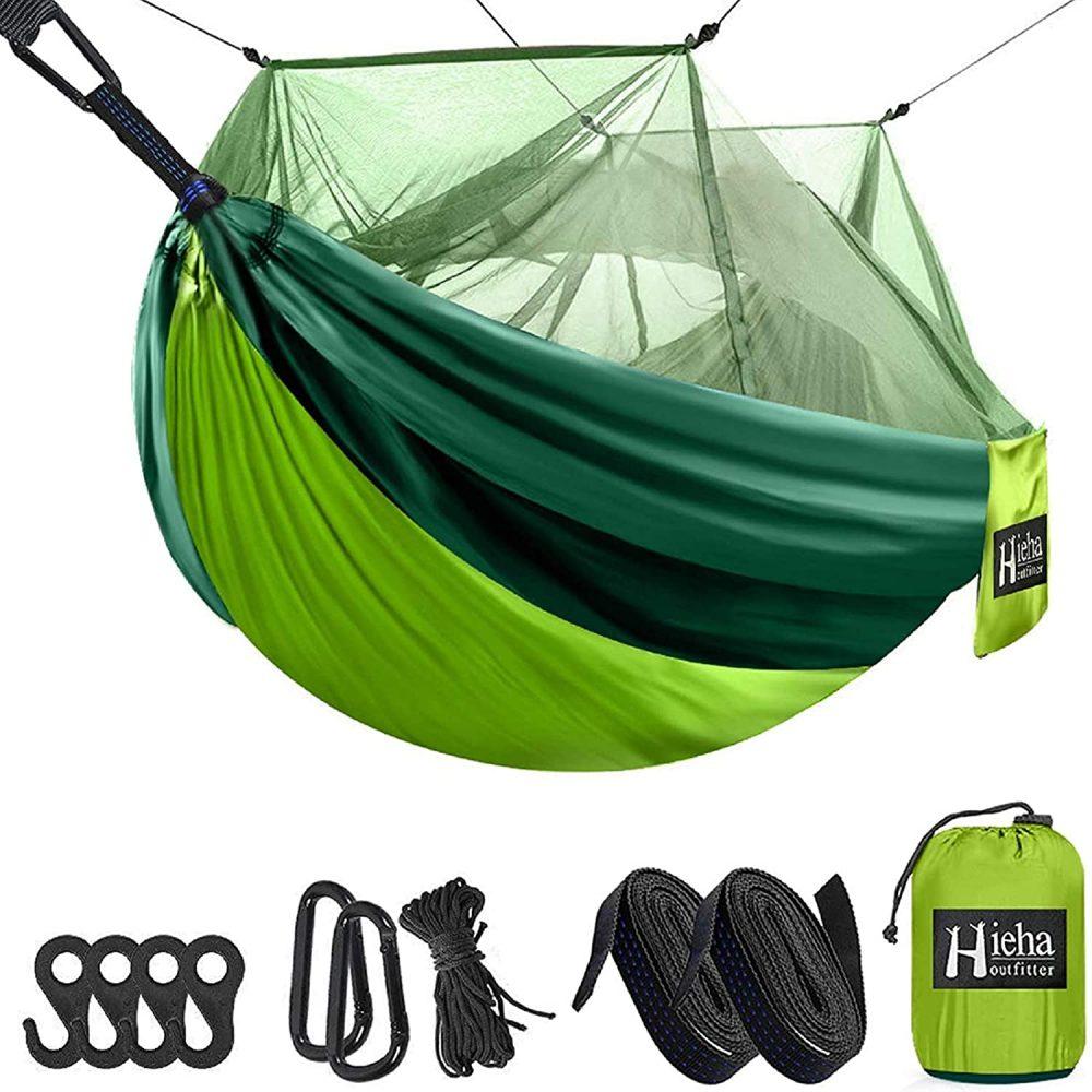 Hieha Bugproof Camping Hammocks