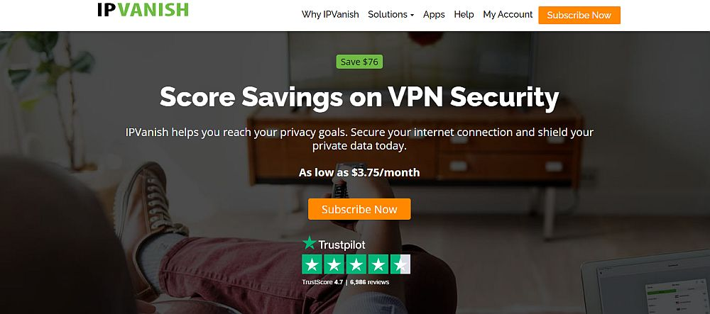 IPVanish - best VPN