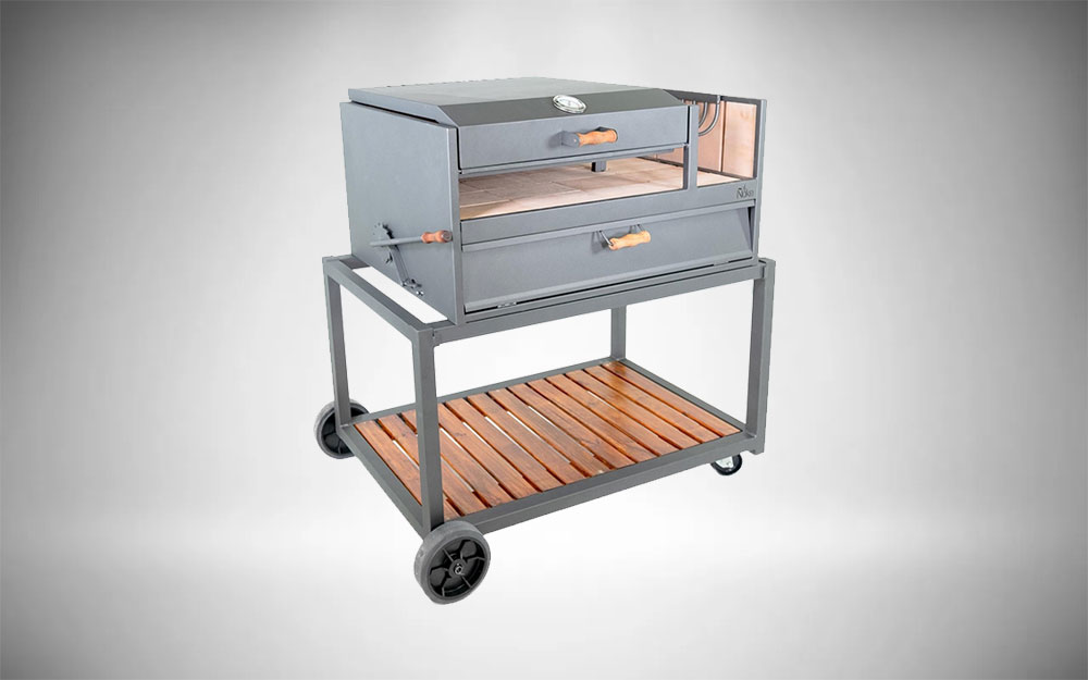 The 40-Inch Argentinian-Style Gaucho Grill from Nuke Delta