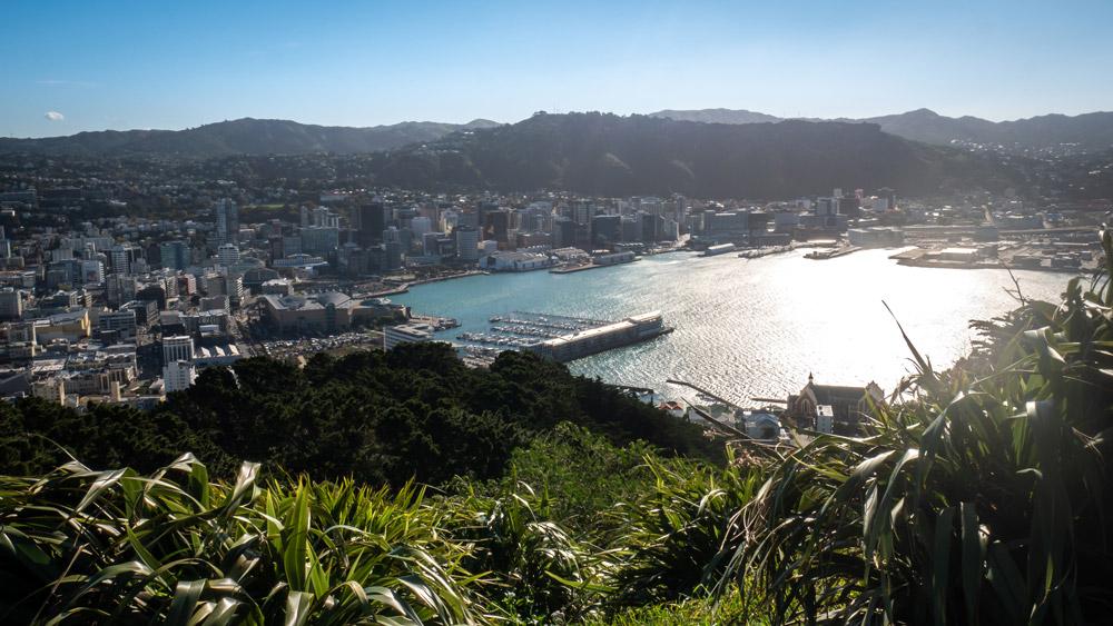 Shot from Mount Victoria, Wellington, New Zealand