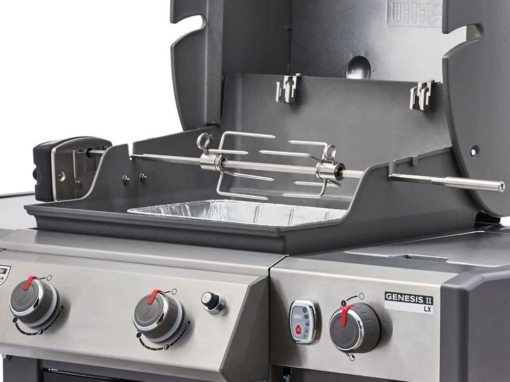High quality Weber 7652 rotisserie kit