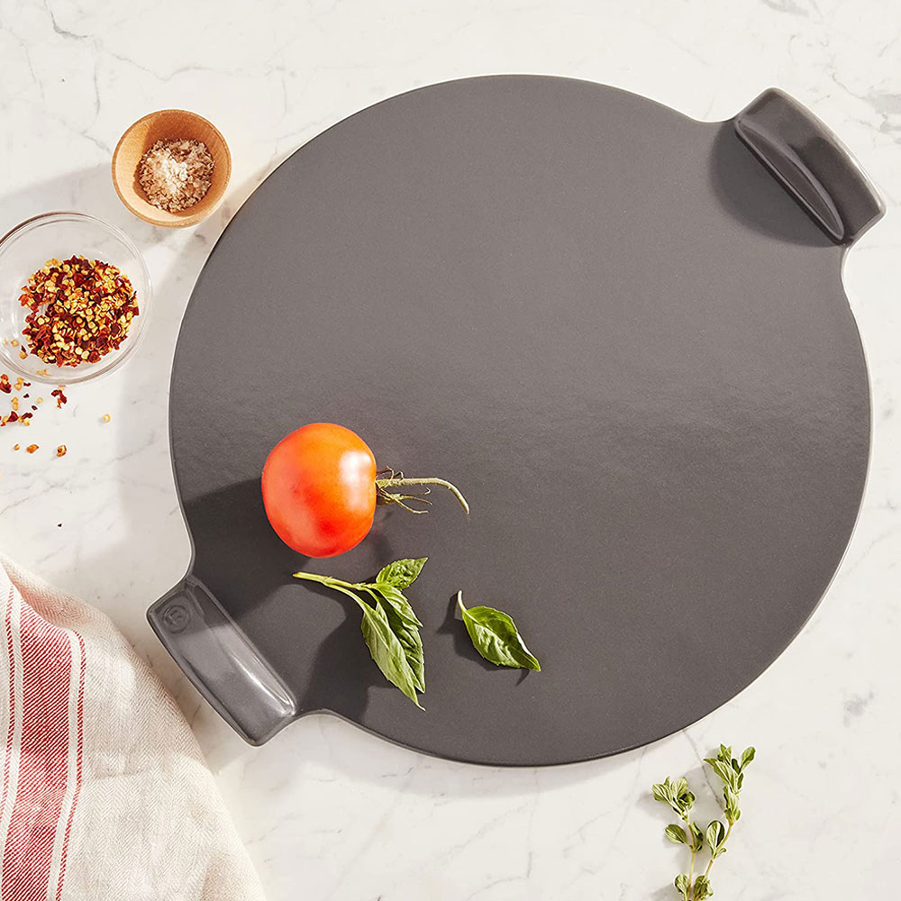 The French-made Emile Henry Flame Top Pizza Stone