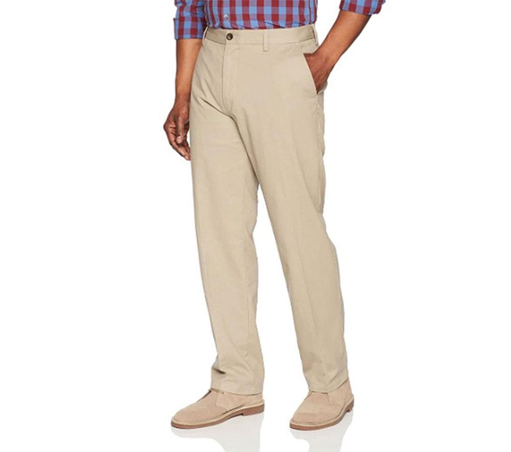 Amazon Essentials Classic-Fit Chino Pant Essential Minimalist Trouser