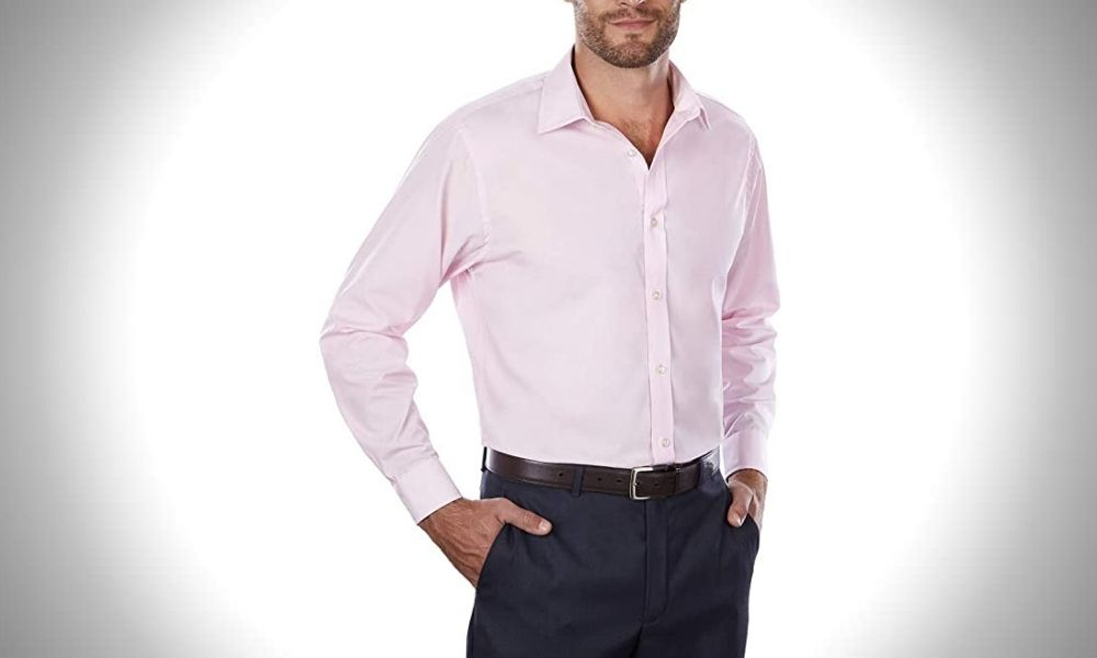 Arrow 1851 Men's Dress Shirt Poplin