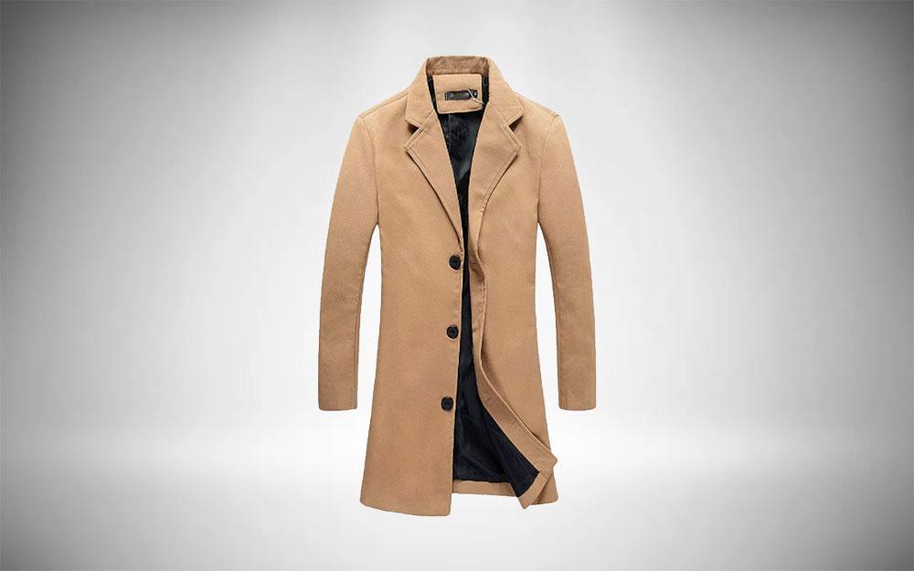 Benino's Slim Trench Coat Essential Overwear