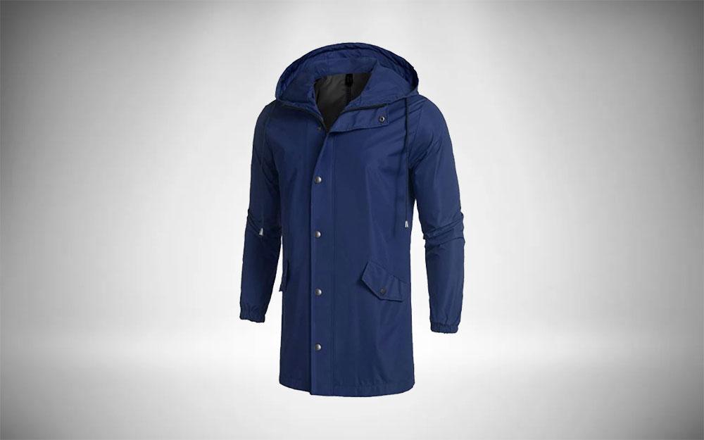 COOFANDY Men's Rainjacket Men's Wardrobe Staple