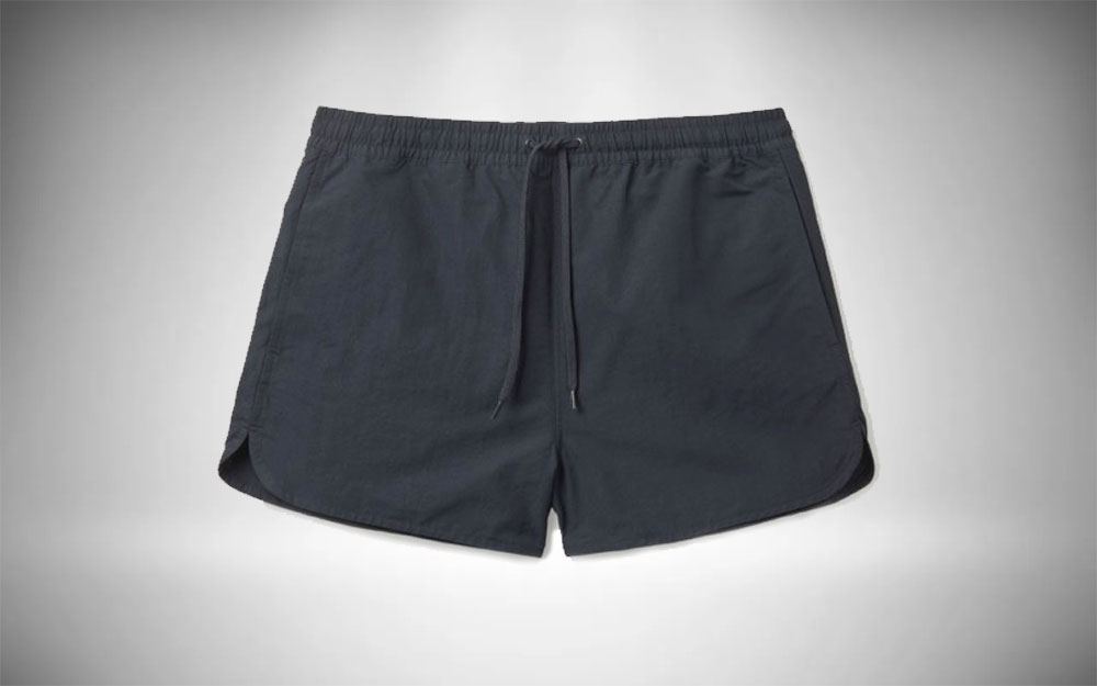 COS - Packable Shorts in charcoal