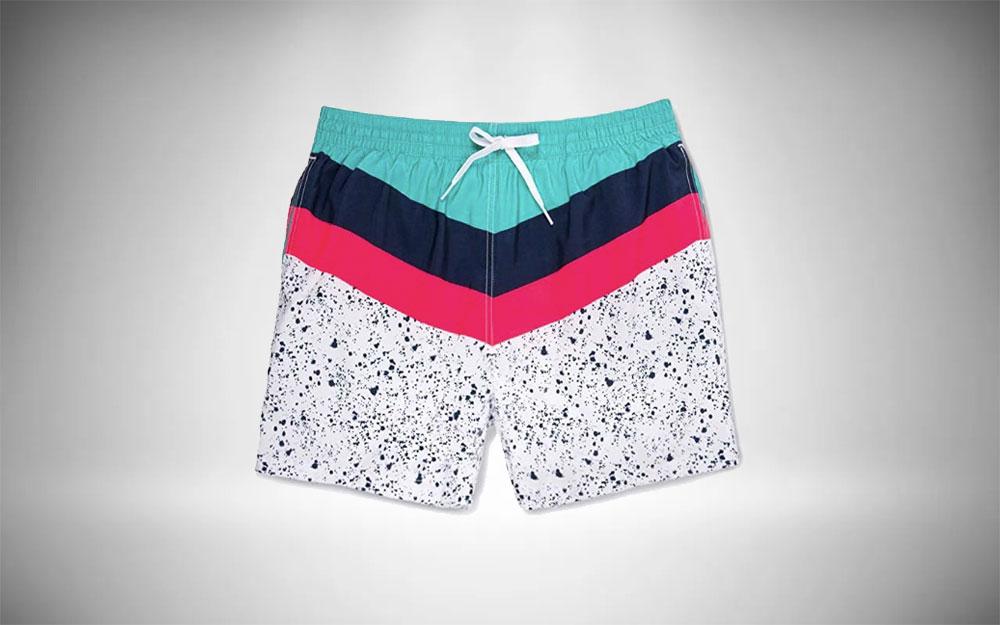 Retro swim trunks from Chubbies