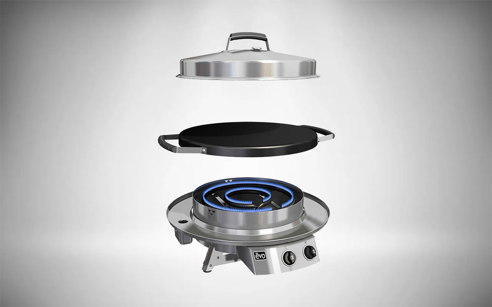Evo Professional Classic Tabletop Griddle