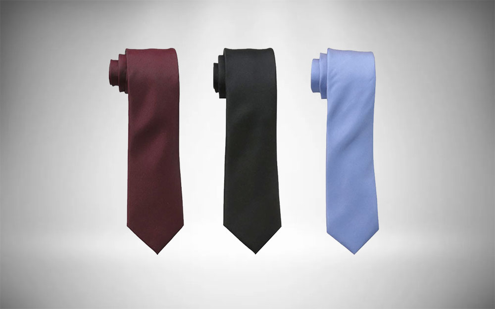 Kenneth Cole Reaction Silm Tie for Minimalist Style Wardrobe