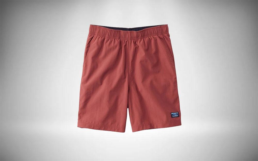 L.L. Bean - Supplex Sport Shorts in brick red
