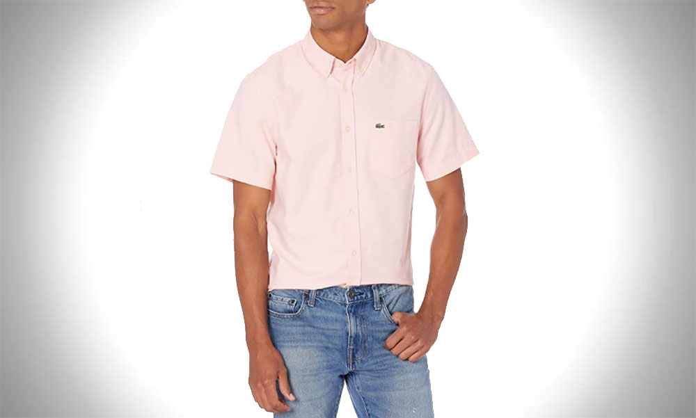 Lacoste | Short Sleeve Oxford Collar Shirt